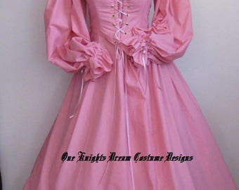 2pc. Renaissance, Wench, Pirate  Bodice, Skirt, Costume