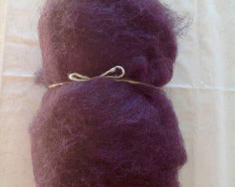 Alpine STONE SHEEP fleece - Purple