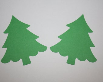 18 x Tree Die Cuts