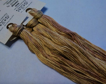 Gentle Art, Sampler Threads, Brandy, #0540, 10 YARD Skein, Embroidery Floss, Counted Cross Stitch, Hand Embroidery Thread