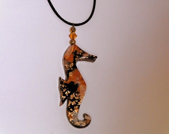 Seahorse Pendant Seahorse Jewelry Seahorse Necklace Ocean Life Pendant Sea Life Pendant Sea Life Jewelry Ocean Jewelry Hand Made