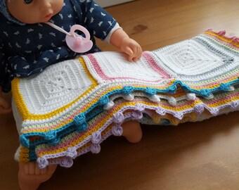 Crochet unisex Baby blanket, handmade, crochet, baby yarn, soft baby blanket,newborn baby blanket