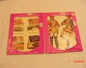 Vintage Meyercord Early Americana  Decals  2 Packs   17 - 2