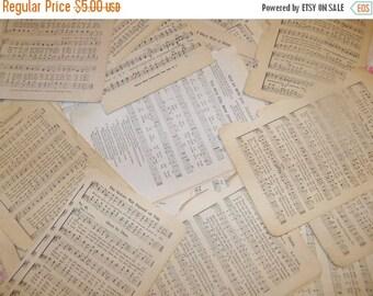 Store Closing SALE Vintage Paper Ephemera Packs-Sheet MUSIC-25 pieces