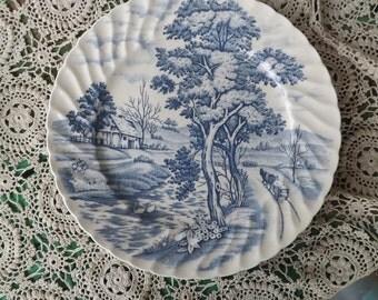 Blue River , Nasco Japan Dessert/ Bread Plate