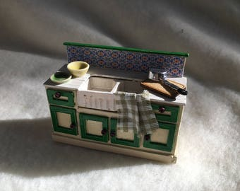 Dolls House Luxury Dressed 1/24th Sink Unit - NEW SPRING 2017