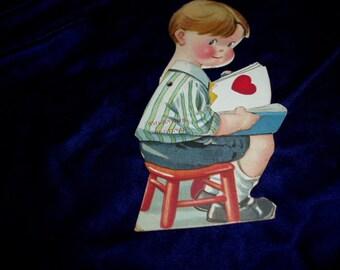 Original 30s Boy Die Cut Mechanical Valentine & Mechanical stool | Etsy islam-shia.org