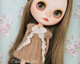 BLYTHE, kidsilk knitted dress
