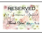 RESERVED for Janelle - 35 Handmade Custom Soap Favors with Complimentary Cellophane clear bags