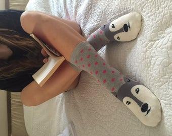 HUSKY Socks ,Women Socks,Boot Socks,Ankle Socks,Dog Socks