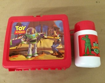 Vintage Toy Story Lunchbox and Thermos