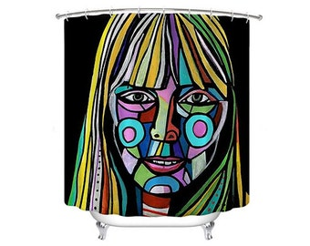 Music shower curtain | Etsy