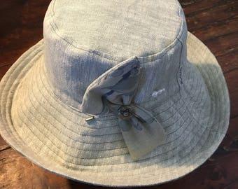 Japanese linen sun hat