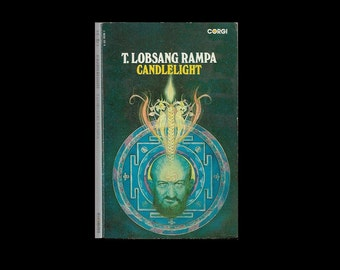 1970s Paperback: Candlelight, by T. Lobsang Rampa. Book. 1973.
