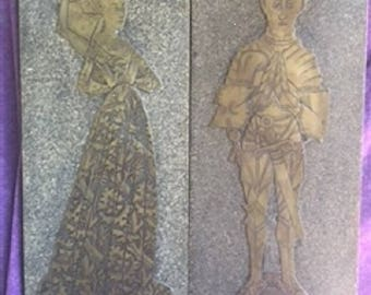 Thomas & Margaret Peyton Monumental Brass