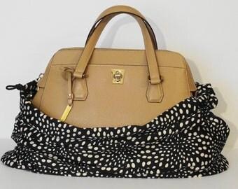 Black Dotty Large BagBag