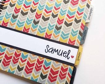 Baby Memory Book * Baby Book * Boy Baby Book * Baby Album * New Baby Gift * Baby Boy Book * Baby Scapbook * New Baby Present * SAMUEL