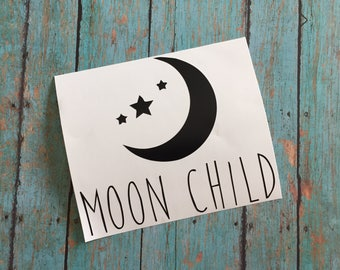 Moon Child Decal