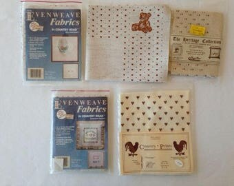 Border Aida Cross Stitch Fabric – Set of 5
