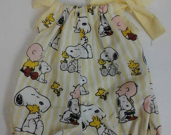 Bubble Romper Summer Outfit, Baby Girl Beach Playsuit,   Sizes Newborn - 4T  Peanuts, Charlie Brown