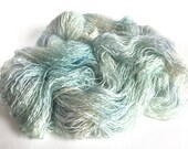Changeling Silk Kid Mohair Yarn.  Icicles
