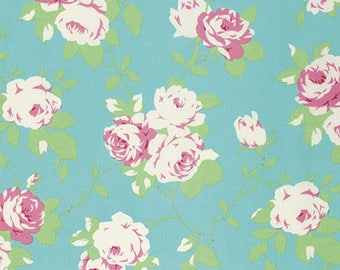 Chloe Rose Vine in Green by Tanya Whelan  - 1 Yard