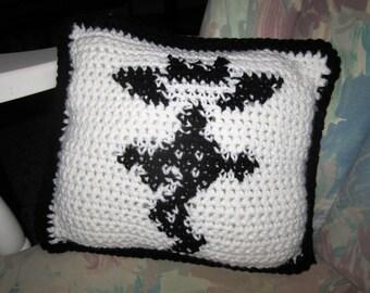 Fullmetal Alchemist Crochet Flamel Pillow