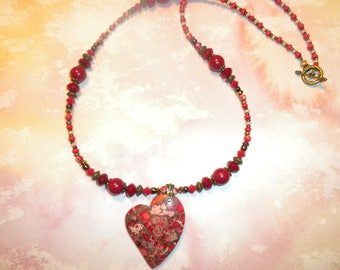 Red Heart Sea sediment Jasper