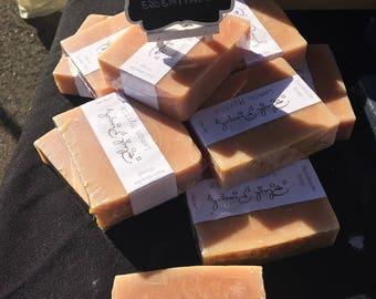 Lemon Myrtle EO Soap - Vegan, No Palm Oil - 150g