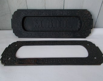 Cast Iron Mail Slot