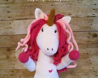 Unicorn, Plush Unicorn Doll, Unicorn Stuffed Animal, Unicorn Toy, Unicorn Crochet, Unicorn Amugurumi, Unicorn Collectible, Unicorns