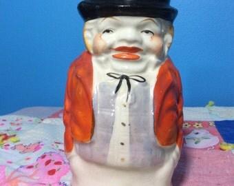 Ceramic kitsch Man creamer