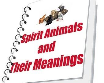 Spirit Animals and Their Meanings Ebook PDF Format earthegy