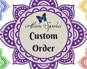 Custom Order For Stormyjean