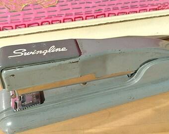 Vintage Swingline Stapler Long Island City 1 N Y Mid Century Industrial Office