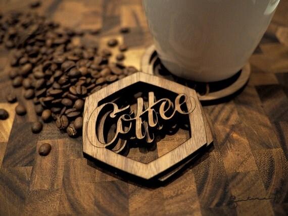 Coffee Lovers Coasters Set (4)