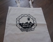 Doctor Who X-Files Tote Bag - Market Tote
