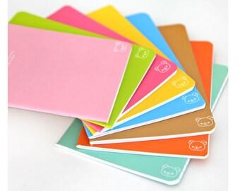 Candy Color Traveler's Journal Notebook Journal Planner Journal Insert Planner Insert Hand Book