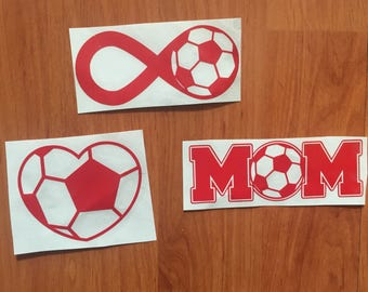 Soccer Decal | Soccer Vinyl Decal | Soccer Mom Decal | Team Decal | Soccer Monogram Decal | Water Bottle Decal | Cup Decal | Soccer Infinity