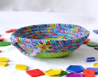 funky office decor. green ring bowl fun basket handmade funky gift desk home office decor i