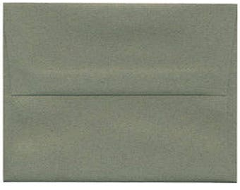 100 Evergreen Sage Envelopes - size A6 recycled paper
