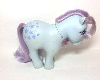 My Little Pony Blue Belle G1 1982 Flat Footed Vintage