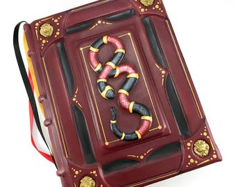 Serpents Leon, bookbinding, leatherbook, leatherjournal, libro, journal, leather-bound, serpent