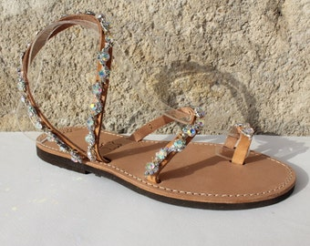 white pearls sandals leather sandals wedding shoes wedding sandals sandales mariage