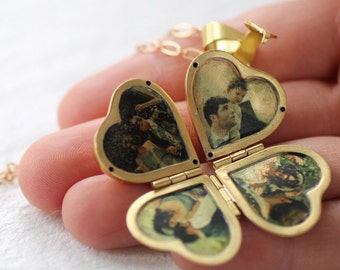 Personalised Photo Locket ... Engraved Personalized Gift New Mom Girlfriend Photograph