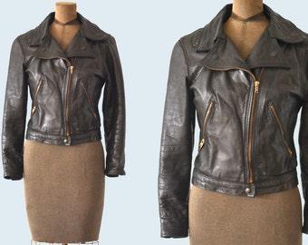 1960s Motorcycle Jacket size XS