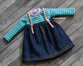 BLYTHE Set - Outfit t-shirt and skirt