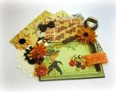 Graphic 45 Botanicabella Inspiration Kit, Embellishment Kit, Ephemera Kit for Scrapbook Layouts Cards Mini Albums Tags and Paper Crafts