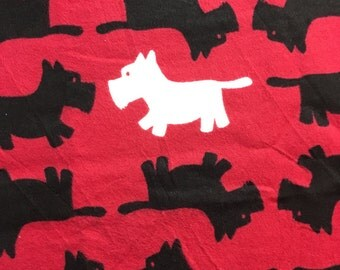 scottie dogs - Cotton