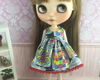 Blythe Dress - Glitter Candy Jars